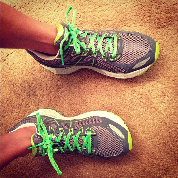 There's no end to the cool color combos of running shoes. All the more reason to put them to use! Source: Instagram user bhodill