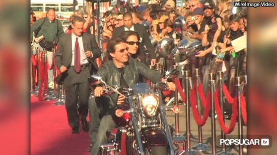 Tom Cruise & Katie Holmes's Romantic Red Carpet Moments