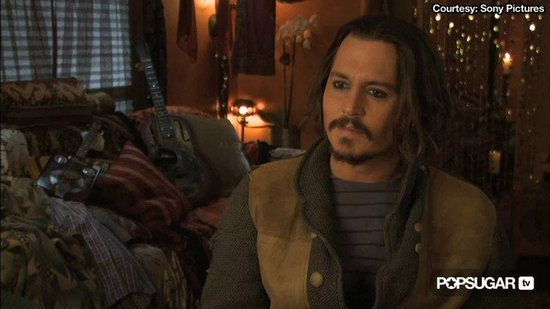 "Johnny Depp Calls Angelina Jolie a ""Perfect Beauty"""
