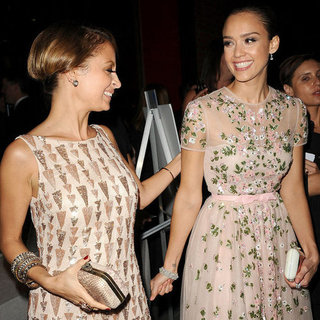 Jessica Alba and Nicole Richie at the First Baby2Baby Gala