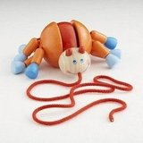 For Infants: Imitation Crab Pull Toy