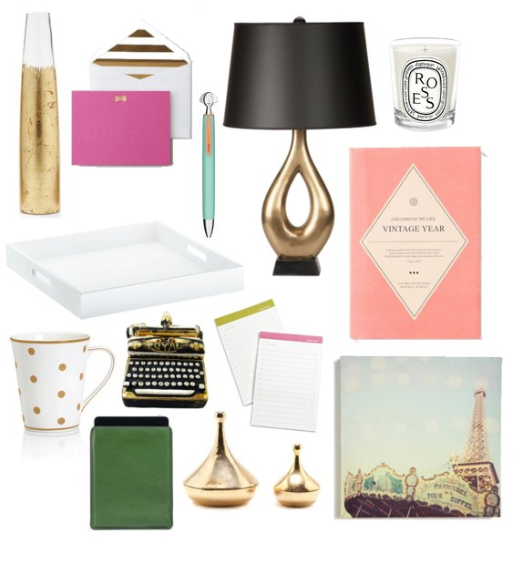 Glamorous Home Office Accessories 2012