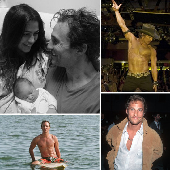 Matthew McConaughey's Sweetest and Sexiest Moments on His 44th Birthday