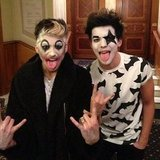KISS One Direction's Louis Tomlinson went as a member of the band KISS. Source: Instagram user louist91