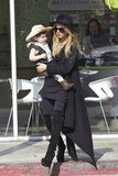 Skyler Berman was a cute cowboy for Halloween with his mom Rachel Zoe.