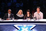 The judges got ready for their first live show this season.