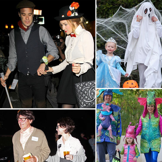 Stars Celebrate Halloween in Costume!