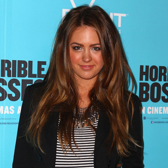 Va-va-voom! Big was certainly beautiful when Jesinta let her hair do it's thang in August 2011.