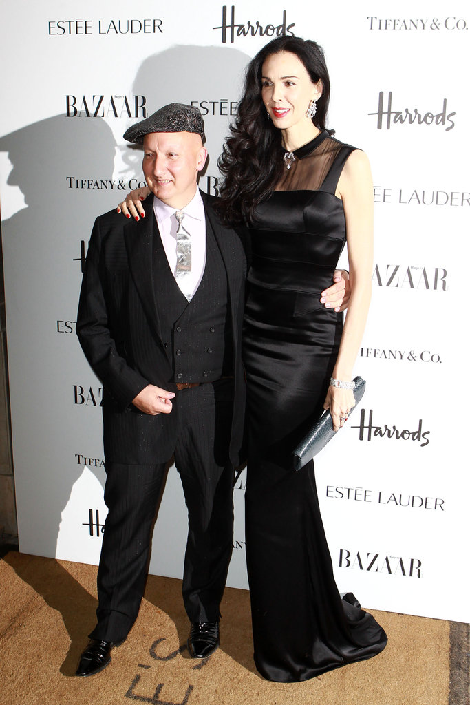 Stephen Jones and L'Wren Scott