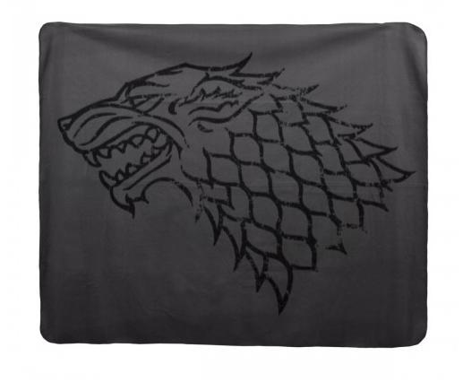 Distressed House Stark Fleece Blanket ($30)