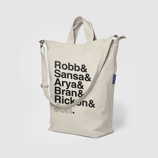 Canvas Stark Siblings Tote Bag ($39)