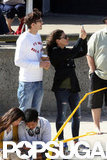 Ashton Kutcher and Mila Kunis Show PDA Down Under