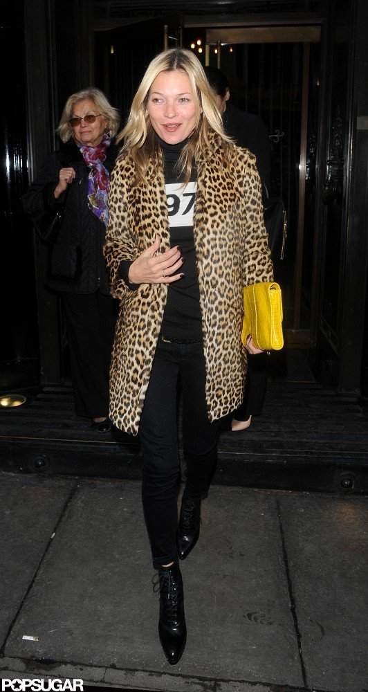 Kate Moss went out to dinner.