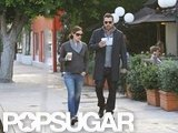 Ben Affleck joined Jennifer Garner for coffee.