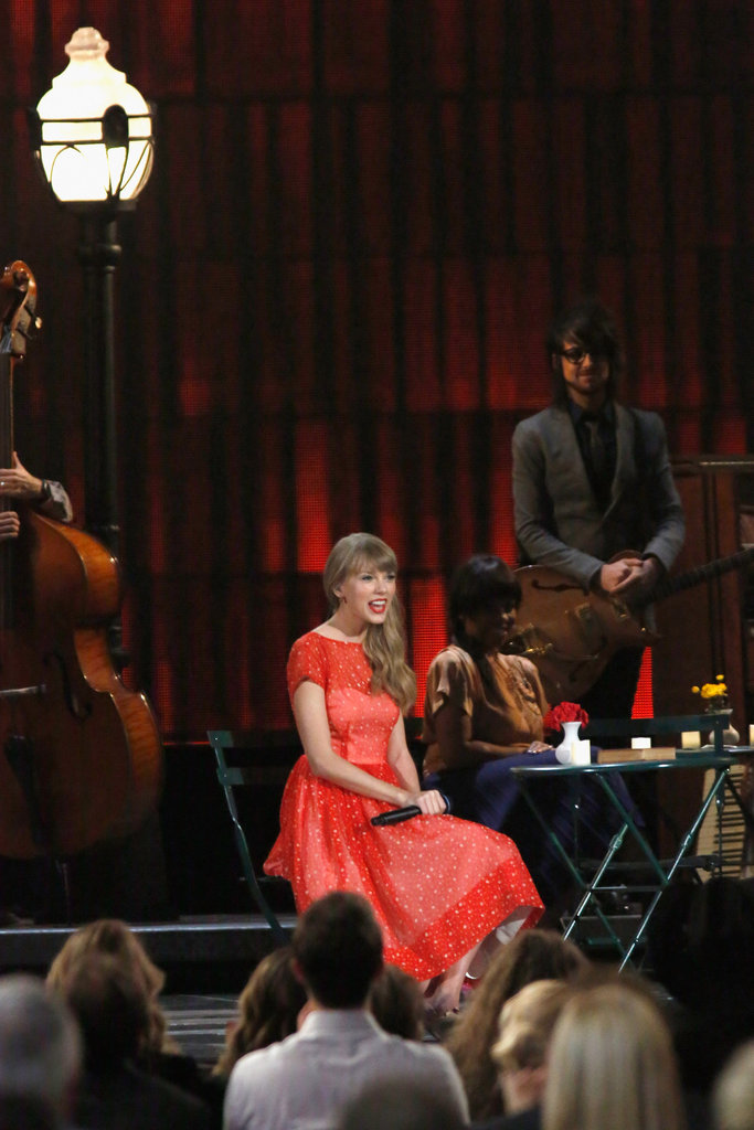 Taylor Swidt was at the Country Music Association Awards in Nashville.