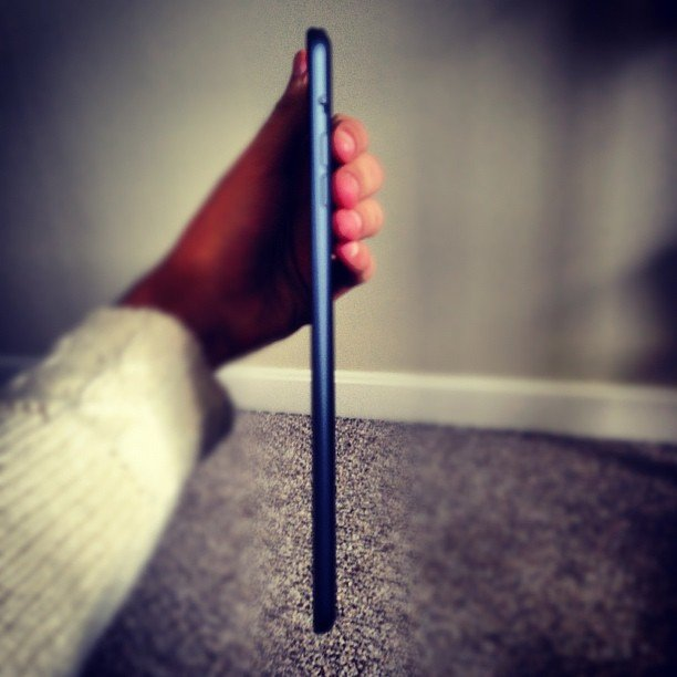 """Thin as pencil. Indeed. "" — moekall Source: Instagram user moekall"