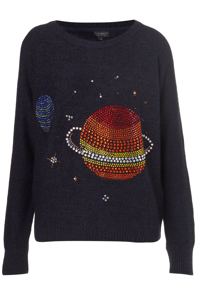 Knitted Crystal Planet Jumper ($110)