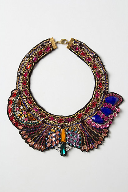 This Anthropologie Osona Collar ($118) would become a jewelry-box treasure — but don't feel like you have to reserve it for special occasions.