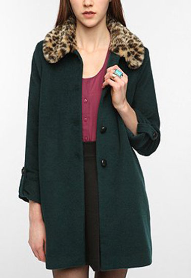 This DV By Dolce Vita Faux Fur Collar Coat ($189) emotes the perfect ladylike touch thanks to the luxe fur collar and classic shape.