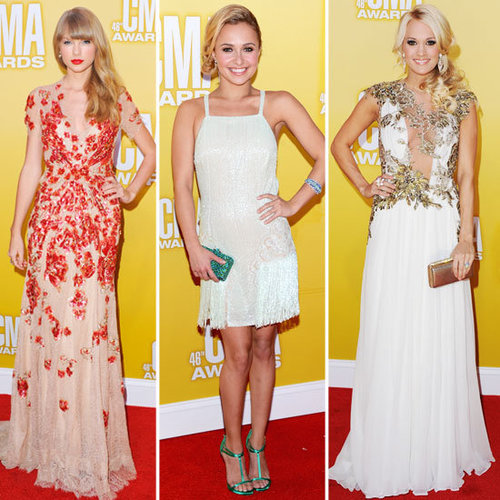 Taylor Swift at CMA Awards 2012 (Pictures)