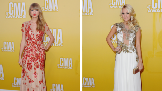 Taylor Swift and Carrie Underwood Steal the Spotlight at the CMAs