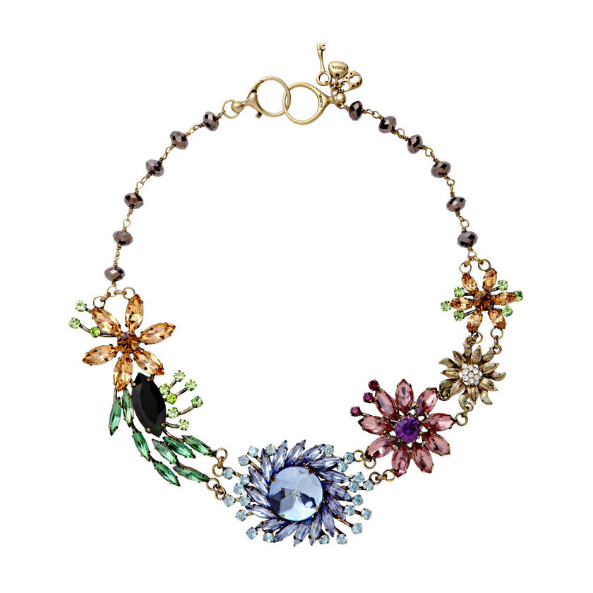 The beautiful floral detailing on this Fossil Glam Flower Necklace ($110) makes it perfect for dressing up everything from work blouses to cocktail dresses.