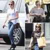Emma Roberts&#039;s Leopard-Print Bag