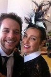 Hamish Blake and Zoe Foster. Source: Twitter user zotheysay