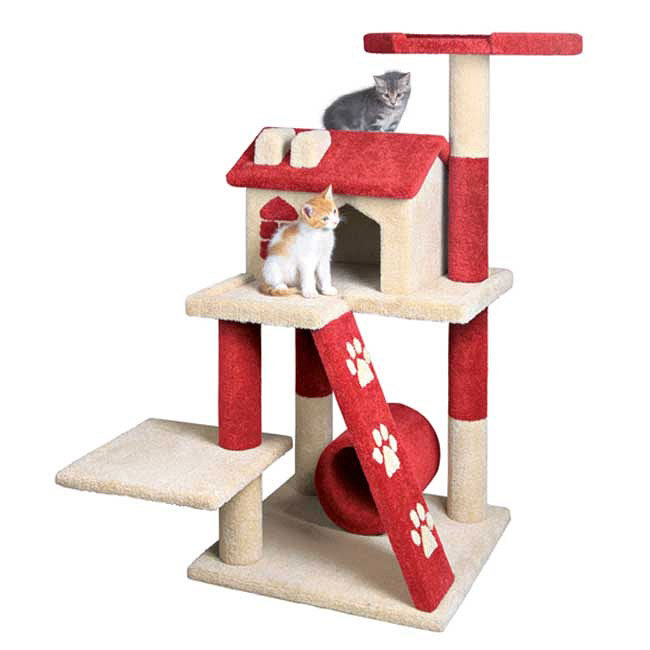 Cat Scratch Tower