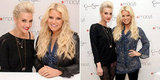 Jessica and Ashlee Simpson Unite to Meet Fans and Show Their Designs