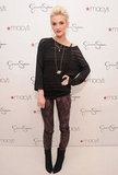 Ashlee Simpson attended an event at Macy's.