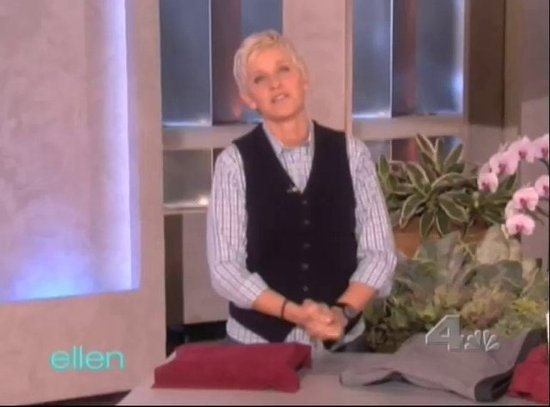 Ellen Tries a Chinese Vibrating Bra