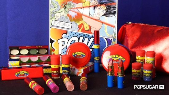 Get a Glimpse of MAC's Wonder Woman Collection. Pow!