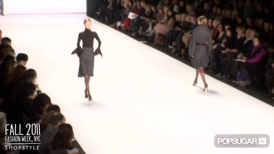 Carolina Herrera Runway at New York Fashion Week Fall 2011