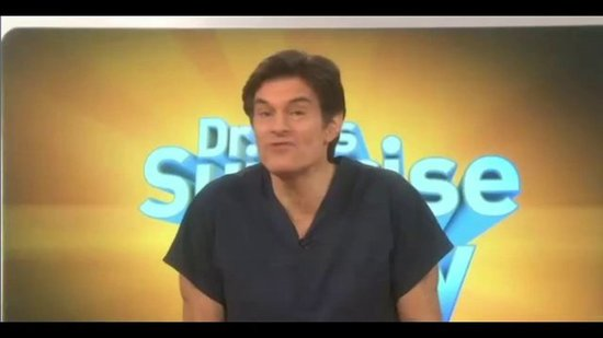 Dr. Oz's Kids Surprise Him On His Show