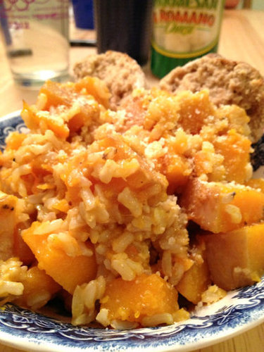 Pumpkin Parmesean Butternut Squash