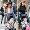 Sarah Jessica Parker Pushes Twins in Strollers | Pictures