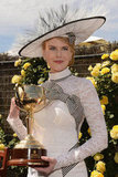 Nicole Kidman was the guest of honor at Derby Day.