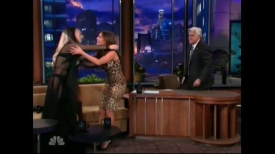 Sophia Vergara Meets Lady Gaga and Wows in Her Dress on The Tonight Show