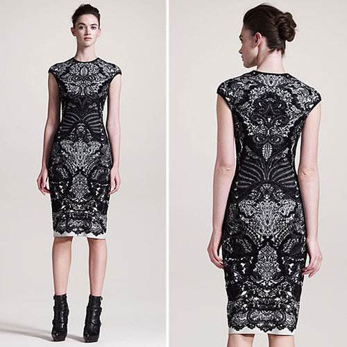 Alexander McQueen Cocktail Dress Fall 2012