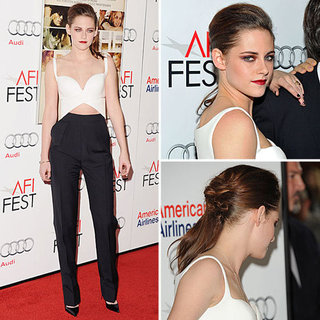 Kristen Stewart On the Road Premiere