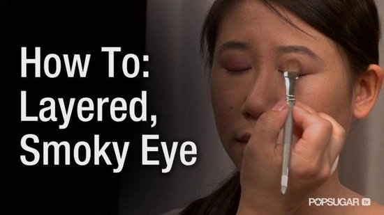 Create Perfect Smoky Eye Makeup on Single Eyelids
