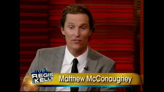 Matthew McConaughey Talks About Vida Dating Someday