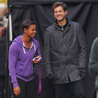 Joshua Jackson Taping the Final Season of Fringe | Pictures