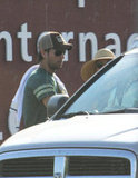 Enrique Iglesias got the car door for Anna Kournikova.