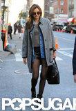 Miranda Kerr headed to rehearsals.