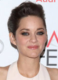 Marion Cotillard looked flawless with an updo.