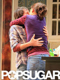 Katie Holmes Kisses Her Costar on Broadway