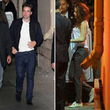 Robert Pattinson Has Kristen's Company For a Late-Night Stop
