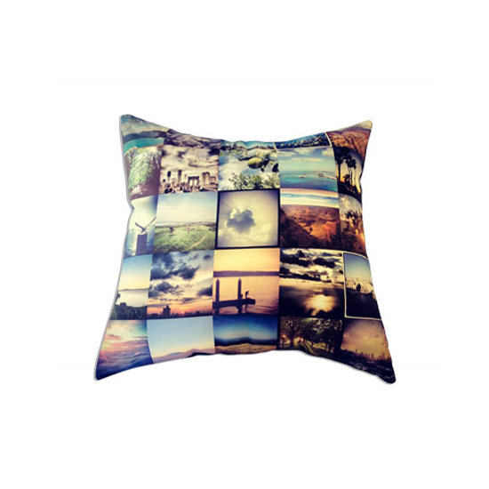 Stichtagram Throw Pillow